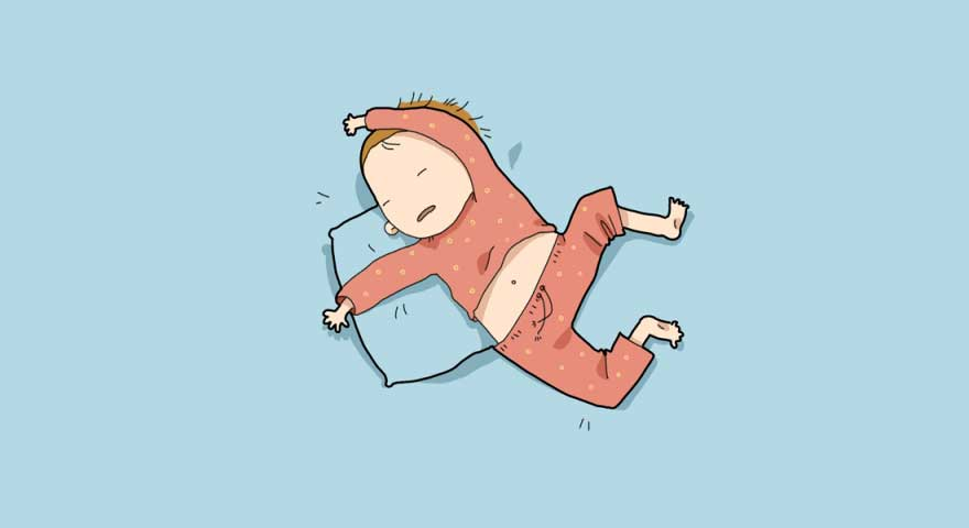 Why we have the feeling of falling before falling asleep?