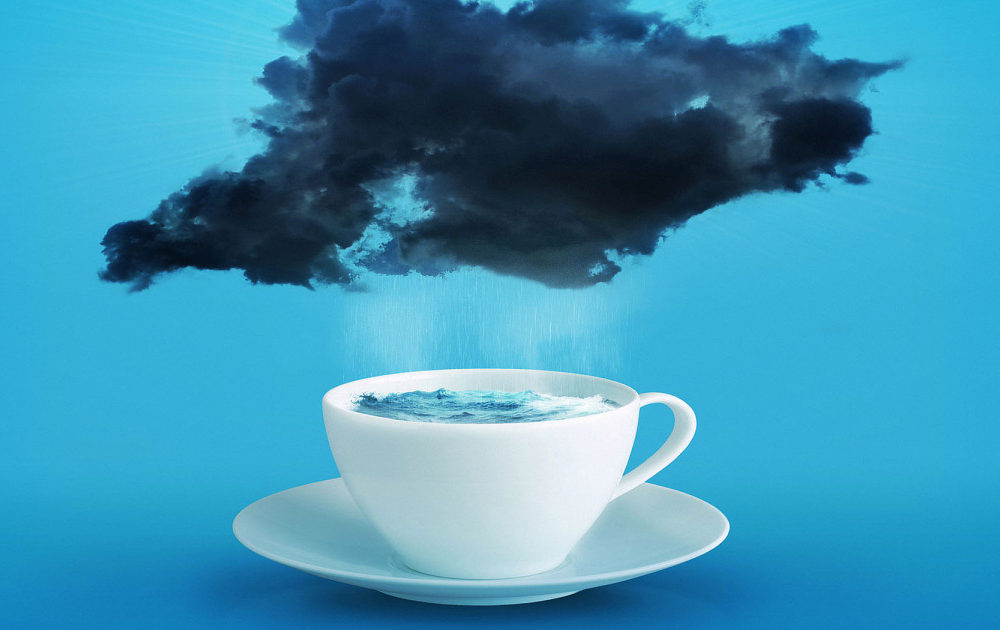 "A zen story tells us what it means to ""make a storm in a teacup"""