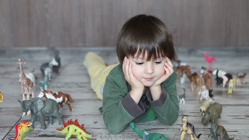 Being obsessed with dinosaurs enhances kids' intelligence