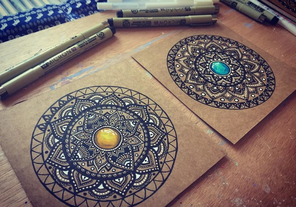 Anti-stress coloring: 5 books of Mandala