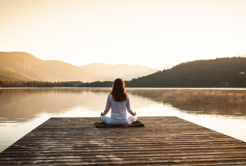 Did you know that meditation changes our brain to protect us from adversity?