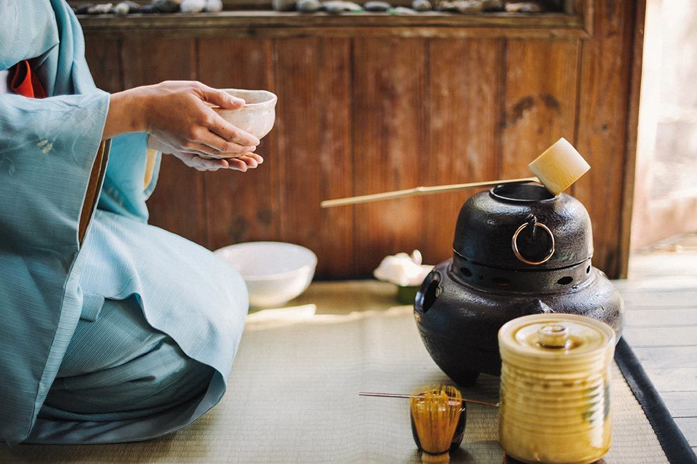 When you do not know what to do, prepare a cup of tea