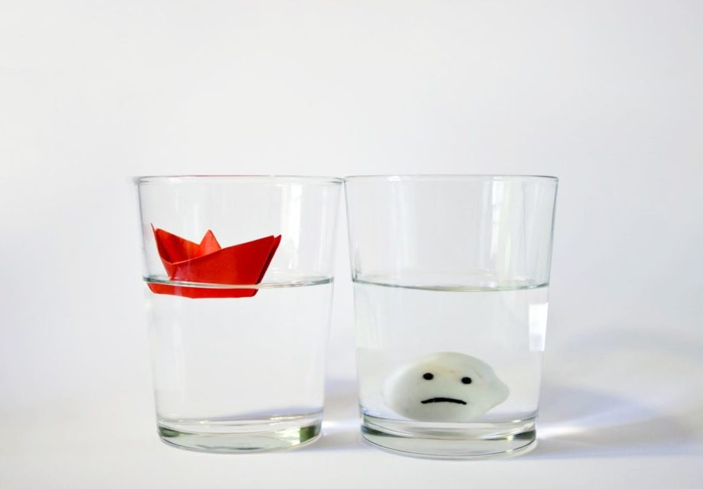Framing Effect: Your decisions depend on whether you see the glass half full or half empty