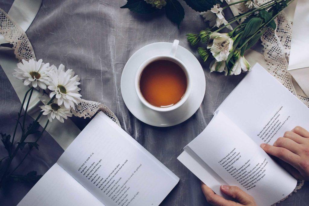 reading poetry